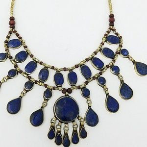 Vintage Afghan Kuchi Necklace